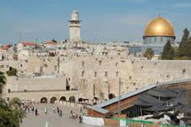 Old City of Jerusalem / Pool of Bethesda / Praetorium / Fortress of Antonia / View of Temple Mount / Western Wall / Via Dolorosa / Church of Holy Sepulcher / Jaffa Gate