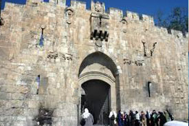 Old City of Jerusalem / Pool of Bethesda / Praetorium / Fortres of Antonia / View of Temple Mount / Western Wall / Via Dolorosa / Jaffa Gate