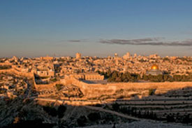 Old City of Jerusalem / Pool of Bethesda / Praetorium / Fortres of Antonia / View of Temple Mount / Western Wall / Via Dolorosa / Jaffa Gate / Garden Tomb